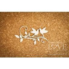 Birds on the branch - Fleur - Laserowe LOVE