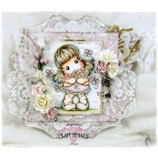OOAK Handmade Greeting Card - Flowers For You
