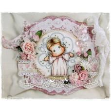 OOAK Handmade Greeting Card - My Angel