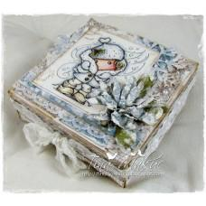 OOAK Gift Box - Brrrr.. It's Cold Outside!