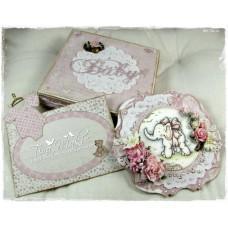 OOAK Handmade Gift Set - Baby Girl