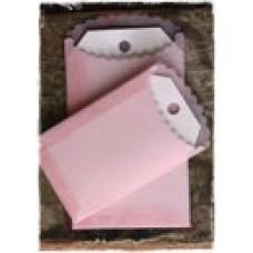 Vellum Envelopes & Tags - PINK - Melissa Frances
