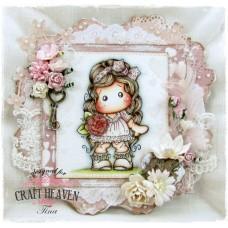 OOAK Handmade Greeting Card - Bohemian Love