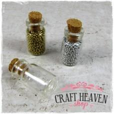 Mini glass bottle - 28mm