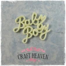 Resin Baby Boy Embellishment