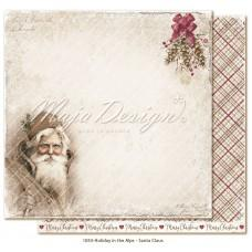 Paper - Santa Claus - Holiday in the Alps