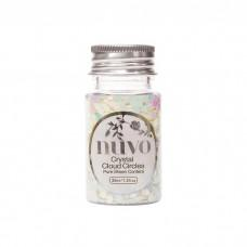 Nuvo Confetti - Crystal Cloud Circles