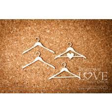 Simple hangers - Laserowe LOVE
