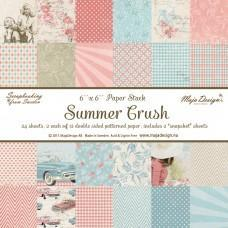 Maja Design - Summer Crush - 6x6 Paper Pad