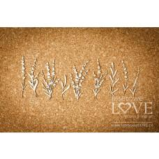 Lavender Flowers - Sweet Lavender - Laserowe LOVE