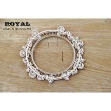 Royal Round Frame - Scrapiniec