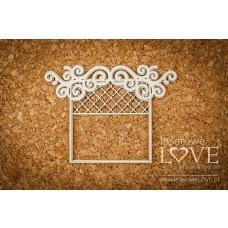 Window Frame - Vintage Ornaments - Laserowe LOVE