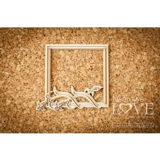 Square frame grain - Tatra life - Laserowe LOVE