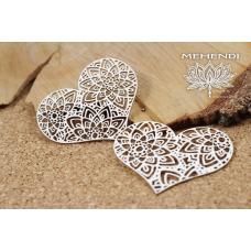 Mehendi - Lace Hearts - Scrapiniec