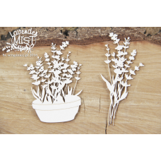 Lavender Mist - Flower Pot - Scrapiniec