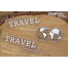 Travel The World - Globe - Scrapiniec