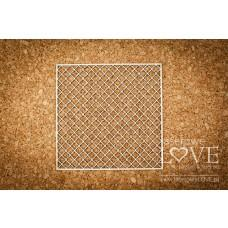 Decorative mesh - Vintage Ornaments - Laserowe LOVE