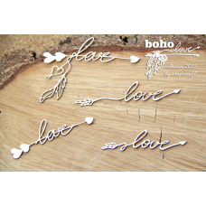 Boho Love - Small Arrows 01 - Scrapiniec