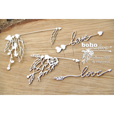 Boho Love - Small Arrows 02 - Scrapiniec
