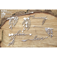 Boho Love - Big Arrows - Scrapiniec