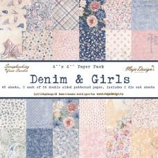 Maja Design - Denim & Girls - 6x6 Paper Pad