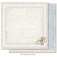 Paper - It's A Boy - Vintage Baby
