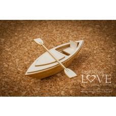 Kayak 3D - Vintage Tropical Island - Laserowe LOVE