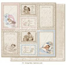 Paper - Ephemera Cards - Vintage Baby