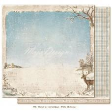 Paper -  White Christmas - Home for the Holidays