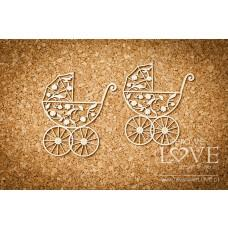 Troley 2 items - Baby lily - Laserowe LOVE