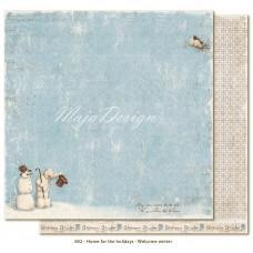 Paper - Welcome winter - Home for the Holidays