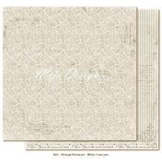 Paper - When I Saw You - Vintage Romance