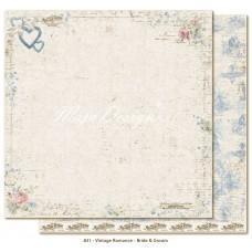 Paper - Bride & Groom - Vintage Romance