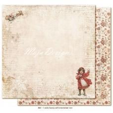 Paper - I wish Santa will remember me - I Wish