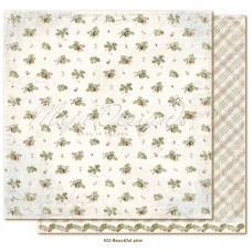 Paper - Beautiful pine - Joyous Winterdays