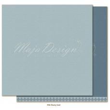 Paper - Monochromes - Shades of Winterdays - Dusty teal