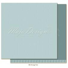 Paper - Monochromes - Shades of Celebration - Vintage Teal