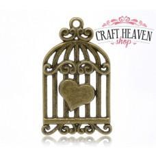 Birdcage with Heart