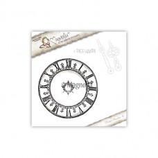 Big Clock With Dies Hands - Magnolia