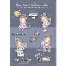 *Pre-order* Bugs, Kisses & Halloween Wishes  - Complete Collection - Stamps (8 sets of stamps) - Magnolia