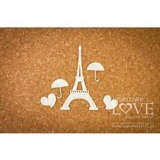 Paris in love - Laserowe LOVE
