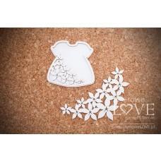 Daughter's dress - Flower - Laserowe LOVE