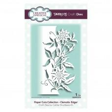 Paper Cuts Collection - Clematis Edger - Creative Expressions