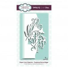 Paper Cuts Collection - Toadstool Dance Edger - Creative Expressions