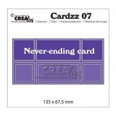 Crea-Lies Cardzz Dies no.07 - Never-ending Card
