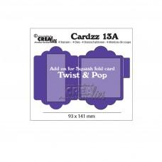 Crea-Lies Cardzz Dies no.13A - Add on for Cardzz 13: Twist & Pop