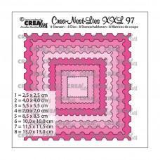 Crea-Nest-Lies XXL Dies no.97 - Stamp Square