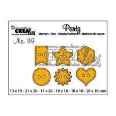 Crea-Lies Partz Dies no.39 - Buttons