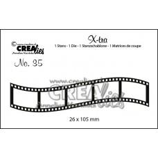Crea-Lies X-tra Dies no.35 - Curved Filmstrip Small