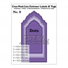 Crea-Nest-Lies Extreme Labels & Tags dies no.9 - With Dots